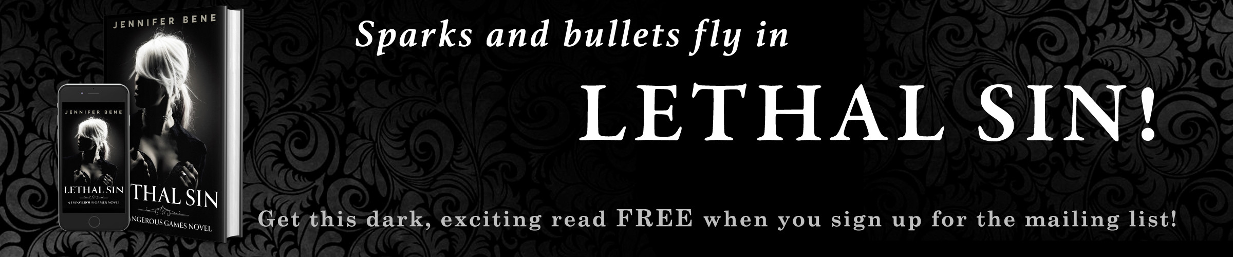Lethal Sin free book mailing list sign up